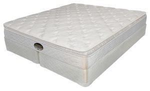 Innerspring Mattress W/Latex Top Mattress Set - Sensations Affinity