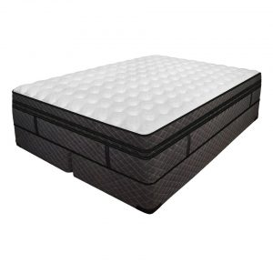Premium Medallion Memory Foam/Latex Adjustable Air Mattress