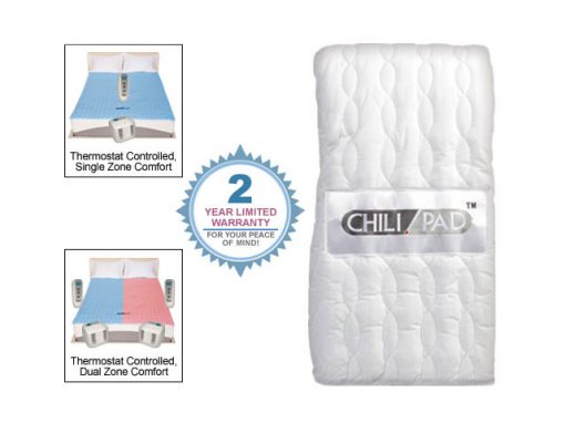 Chilipad Cube Temperature Adjustable Mattress Pad Topper Premium