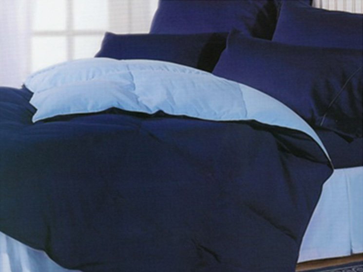Reversible Solid Color Cozy Comforters Premium