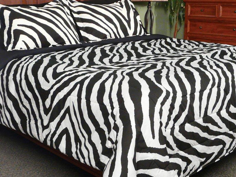 Zebra Stripe Comforter