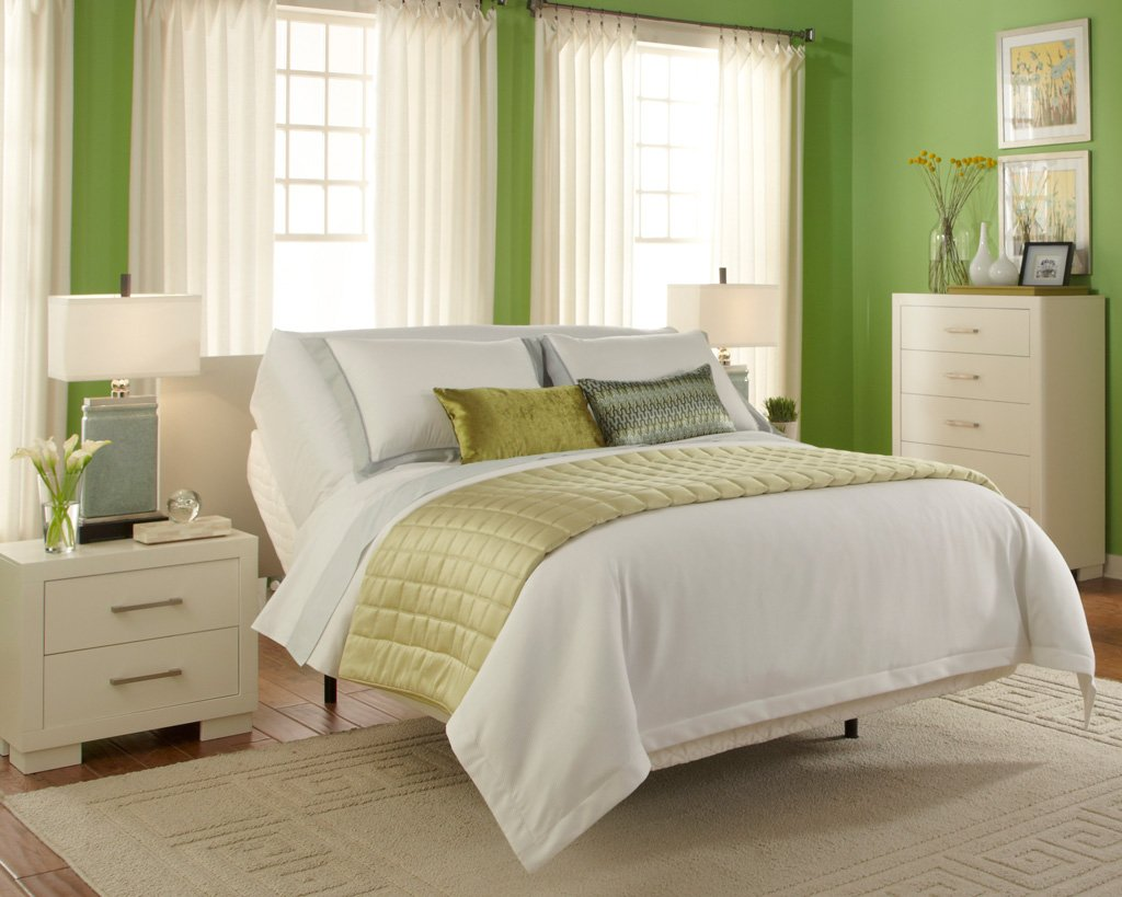 Brio 30 Adjustable Bed Green Room