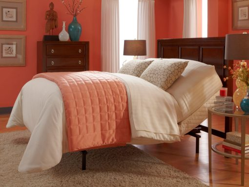 Brio 60 Adjustable Bed Red Room